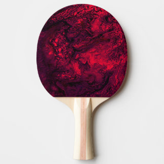 Red Ice Ping Pong Paddle