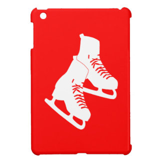 Red Ice Skates iPad Mini Case