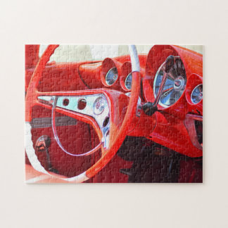 Red Impala Jigsaw Puzzle