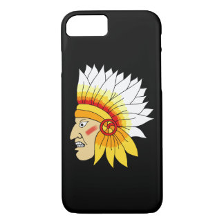 Red Indian Head iPhone 8/7 Case
