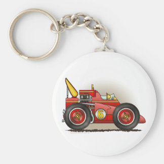 Red Indy Race Car Key Chains