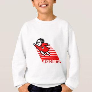 Red instead sweatshirt