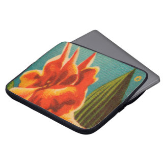 Red Iris Laptop Sleeve