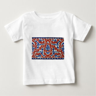 Red Iznik Turkish Tile Ottoman Empire Baby T-Shirt