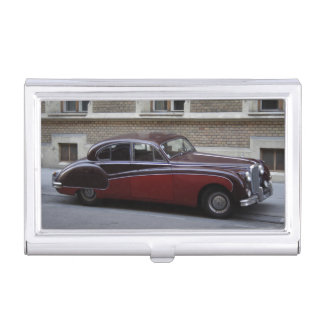 Red Jaguar Mark IX Business Card Cases