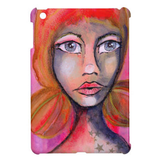 Red Jane Case For The iPad Mini