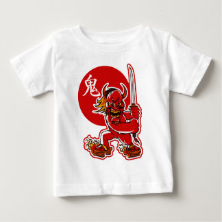 Red Japanese Demon Baby T-Shirt