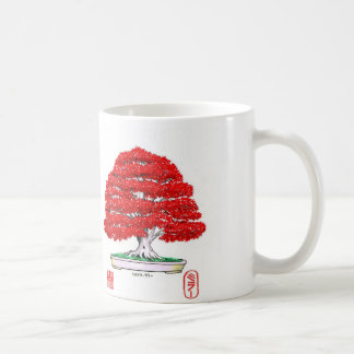 Red Japanese Maple Bonsai Mug