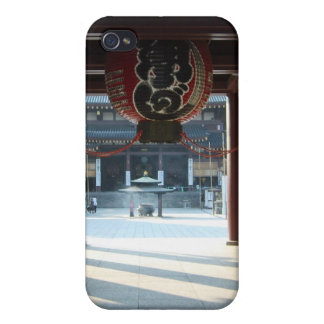 Red Japanese Paper Lantern iPhone 4 Case