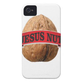 red Jesus nut iPhone 4 Covers