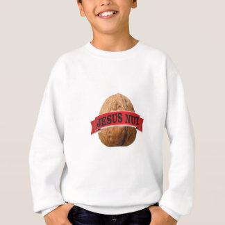 red Jesus nut Sweatshirt