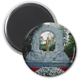 Red Johann Strauss Memorial, Stadtpark, Vienna, Au Magnet