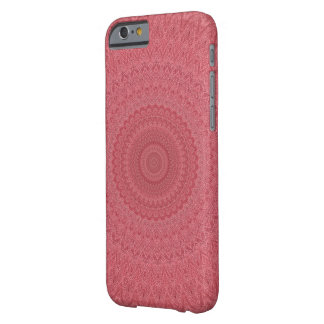 Red kaleidoscope barely there iPhone 6 case