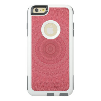 Red kaleidoscope OtterBox iPhone 6/6s plus case