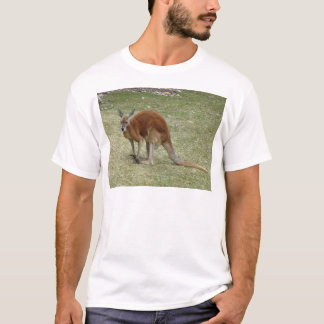 red kangaroo T-Shirt