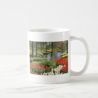 Red Keukenthof Gardens, Lisse, Holland flowers Coffee Mug