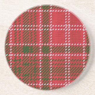 Red Kilt Tartan Coasters