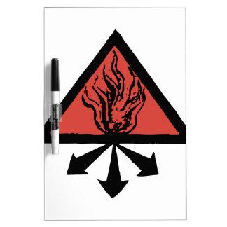 Red King Alchemy Dry Erase Board