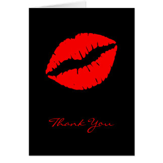 Red Kiss Card