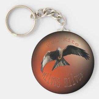 Red Kite Bird of Prey Keychain