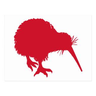 Red Kiwi Postcard