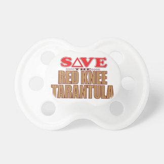 Red Knee Tarantula Save Baby Pacifiers