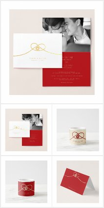 RED KNOT DOUBLE HAPPINESS | CHINESE WEDDING SUITE