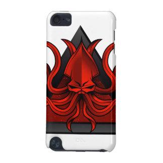 red kraken illustration iPod touch 5G covers