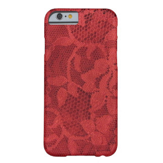 Red Lace Barely There iPhone 6 Case