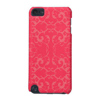 Red lace design iPod touch (5th generation) covers
