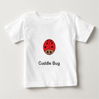 Red Lady Bug Cuddle Bug Baby T-Shirt