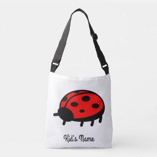 Red ladybug crossbody bag