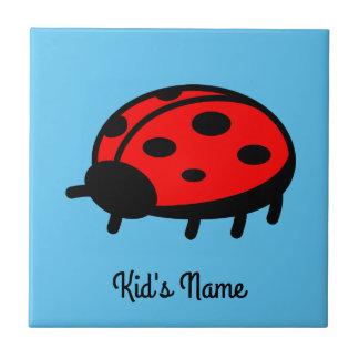 Red ladybug tile