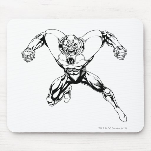 Red Lantern Corps - Rage Jump 3 Mousepads