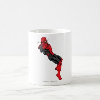 Red Lantern Corps - Rage Leaning 1 Basic White Mug