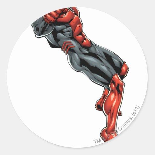 Red Lantern Corps - Rage Leaning 2 Sticker