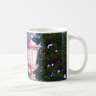 Red Lantern in winter Coffee Mug