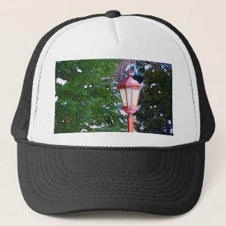 Red Lantern in winter original (Dark) Trucker Hat