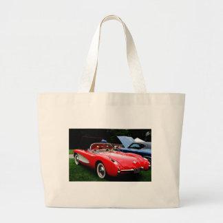 Red Large Tote Bag