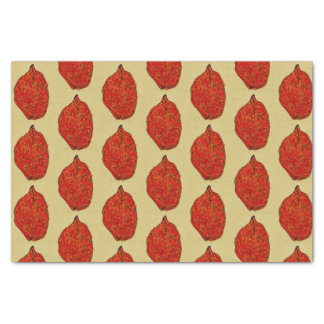 Red Leaf Tissue Paper