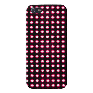 red Led light iPhone 5/5S Cases
