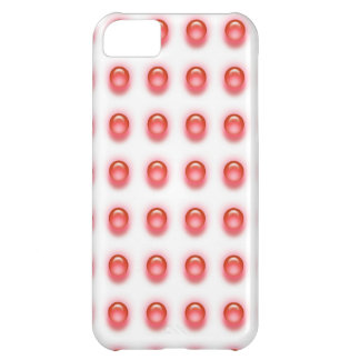 Red Leds on White iPhone 5 Cover