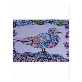 Red-legged Gull Postcard