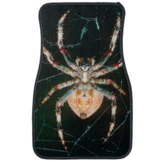Red-Legged Orb-Web Spider Car Mat