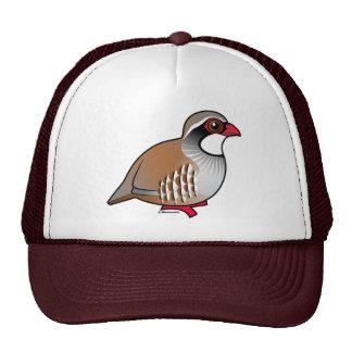 Red-legged Partridge Mesh Hat