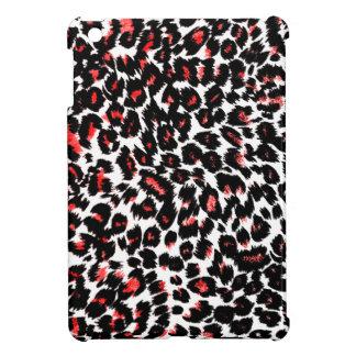 Red Leopard Spots Pattern iPad Mini Cases