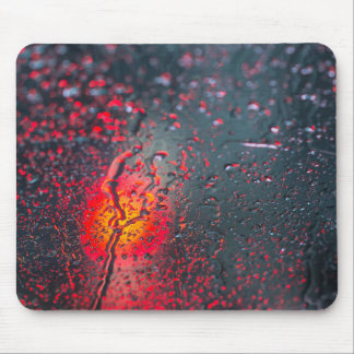 Red light abstarct mouse pad