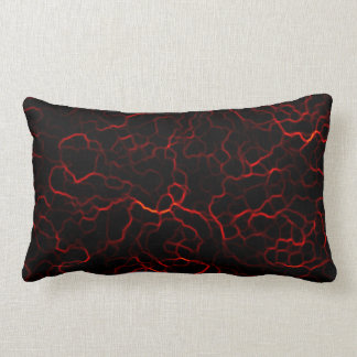 Red Lightening Lumbar Pillow