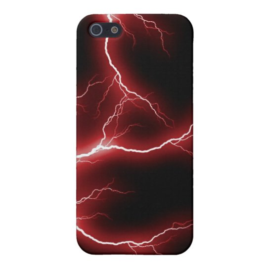 Red Lightning Design iPhone 5C Case