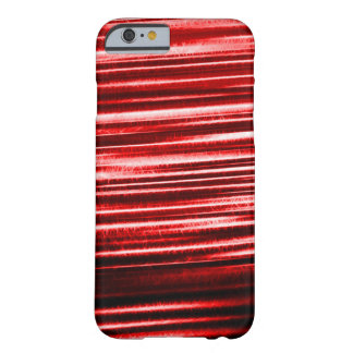 Red Lightning Flash Fractal Barely There iPhone 6 Case